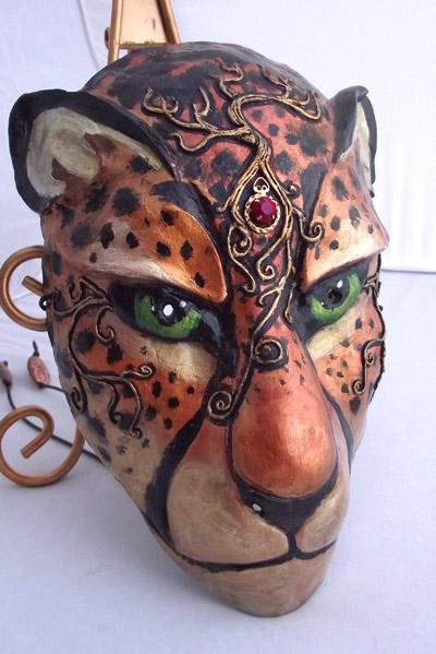 Cheetah Mask by Namingway