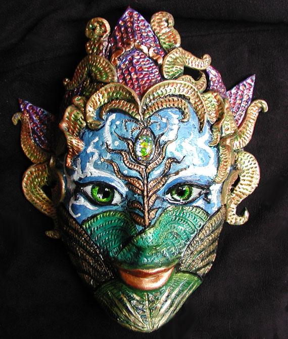 Cornucopia Mask by Namingway