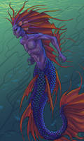 Betta Merman by Namingway