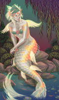 Koi Mermaid by Namingway