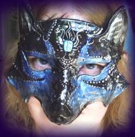 Black Wolf Mask by Namingway