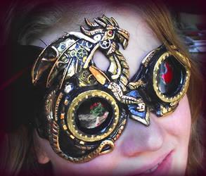 Clockwork Dragon Goggles by Namingway