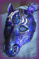 Celtic Horse Mask by Namingway
