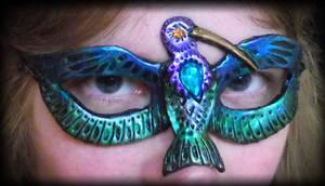 Magnificent Hummingbird Mask by Namingway