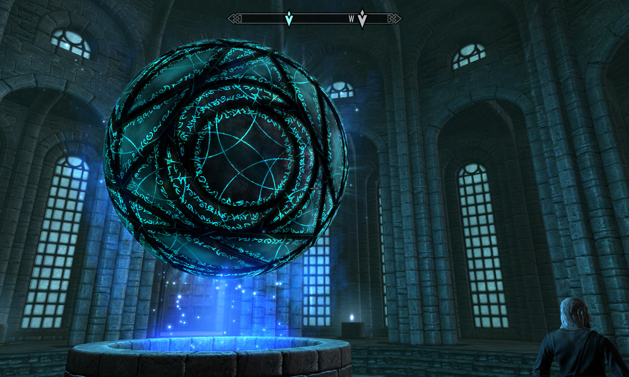 The Mages' Orb Skyrim Wallpaper by Namingway