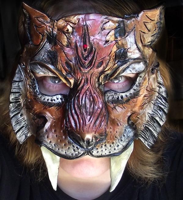 Saber-Toothed Tiger Mask by Namingway