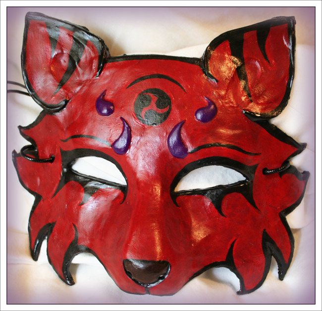 Red Fox Mask by Namingway