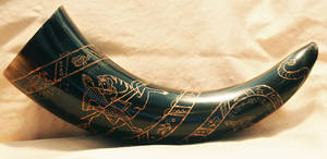 Bayeux Tapestry Drinking Horn