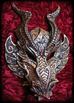 Emperor Dragon Mask- Gold