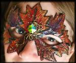 Autumn Leaf Mask
