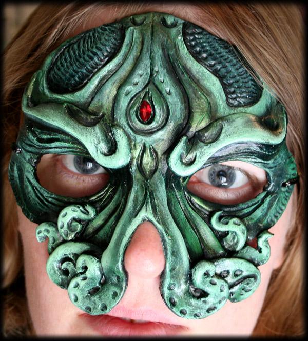 Cthulhu Mask by Namingway