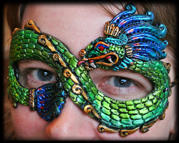 Quetzalcoatl Mask by Namingway