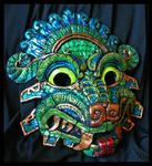 Quetzalcoatl Molded Mask