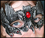 Crows of the Morrigan Mask