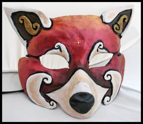 Red Panda Mask by Namingway