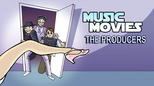 Music Movies- The Producers by Namingway