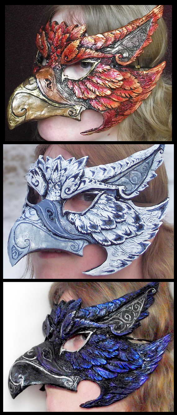 Griffin Mask - Any Color by Namingway
