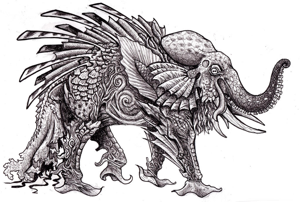 Octophant by Namingway
