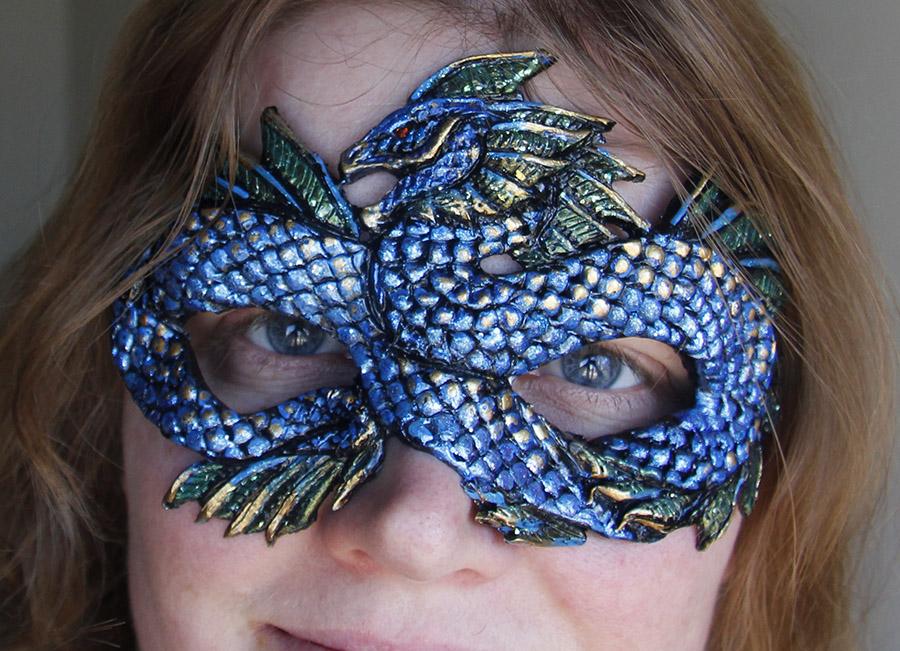 Sea Dragon Mask by Namingway