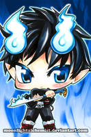 Blue Exorcist: Rin by MoonlightAlchemist