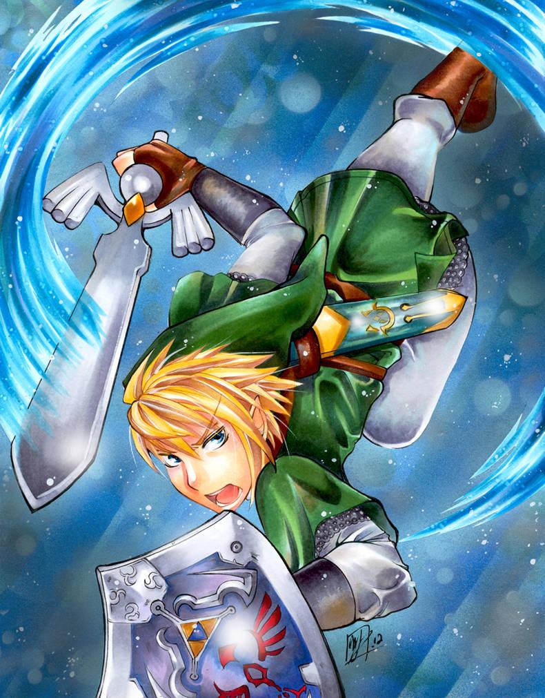 Skyward Sword: Link by MoonlightAlchemist