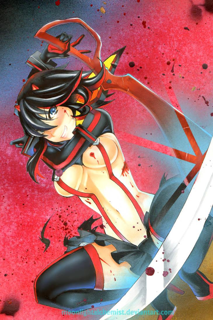 Kill la Kill +++ Ryuuko Matoi by MoonlightAlchemist