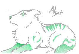 Emporer Green Stripes -Female- by oORoyalWolvesOo