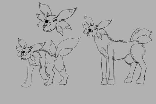 Neiot Request - Creature Concept Sketches