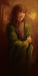 Green cloak by FennecWolf