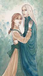 Ida and Bensiabel by FennecWolf