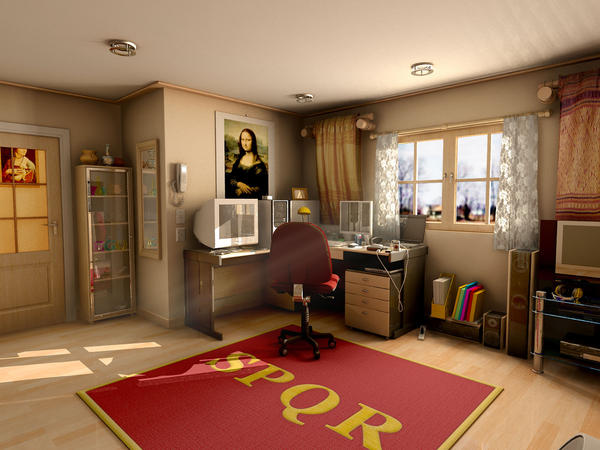 Mental Ray For Maya Room 2 By Withego On Deviantart