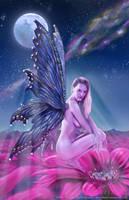 Moon Beam Butterfly by futureclassx