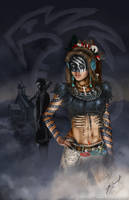 The Vampire Queen Moria by futureclassx