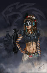 The Vampire Queen Moria