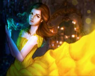 Beauty and te Beast : Belle by KhayRin