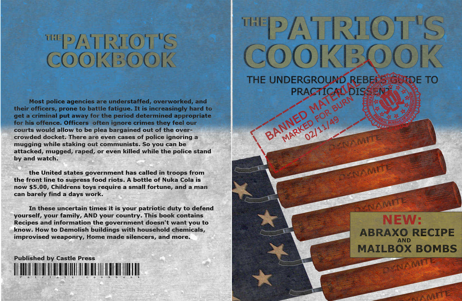The patriots cookbook by emptysamurai