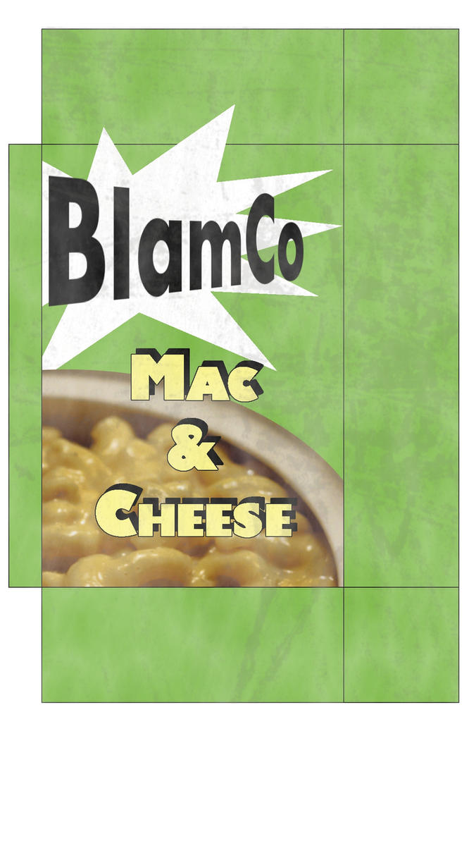 BlamCo Mac and Cheese box by emptysamurai