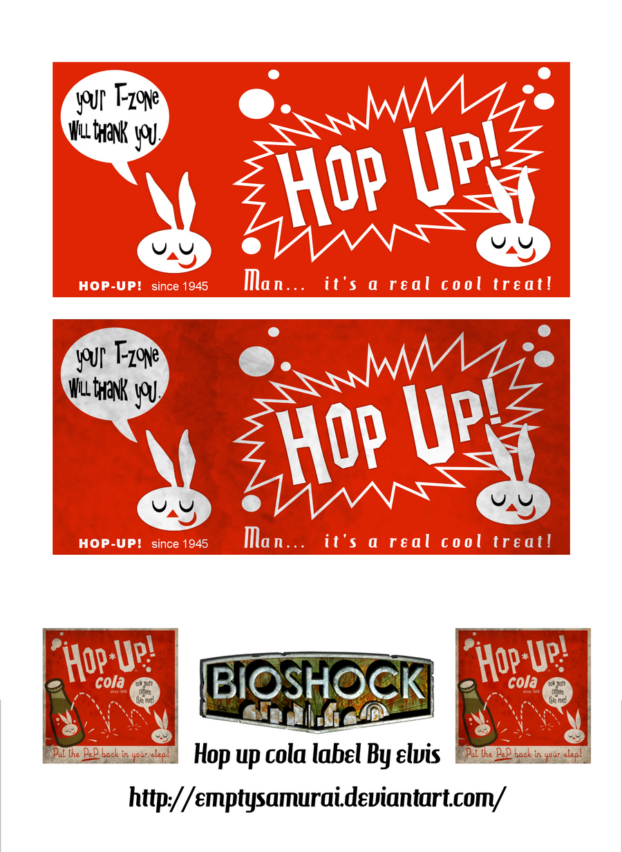 hop up soda label by emptysamurai on deviantart