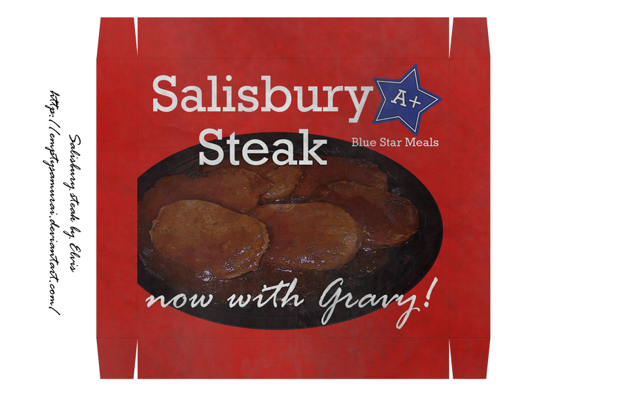 Salisbury steak MKI by emptysamurai