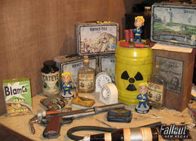shitty picture of fallout props!!!!