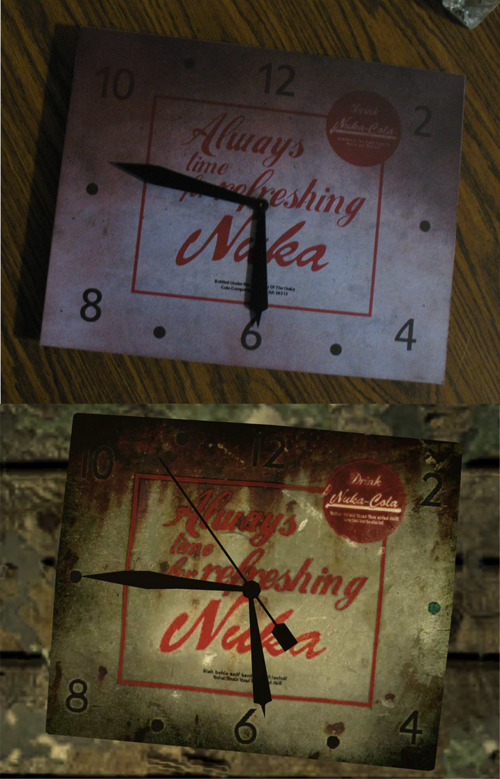 Nuka cola Clock 2 by emptysamurai