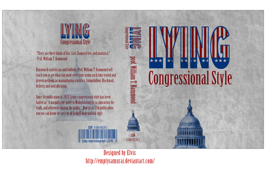 Lying Congressional style by emptysamurai
