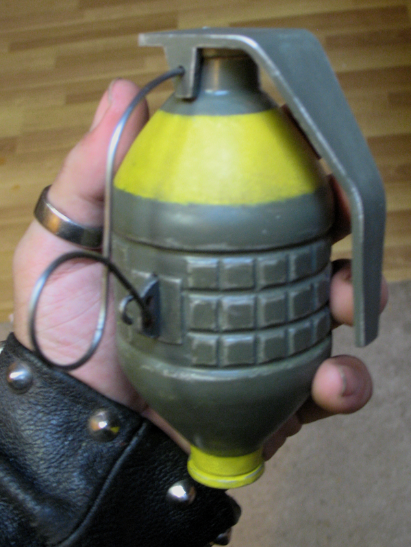 Fallout Frag Grenade Version 1 by emptysamurai