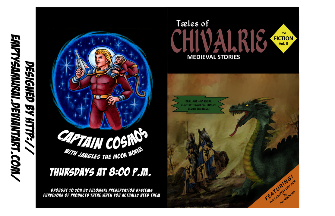 Tales of Chivalry comic cover by emptysamurai