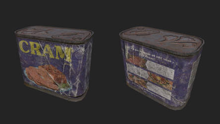 Throwback Cram can for Fallout 4