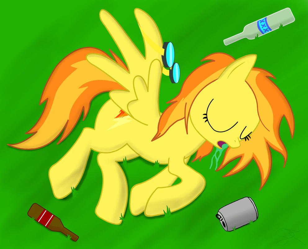 Spitfire drunk by Spitshy