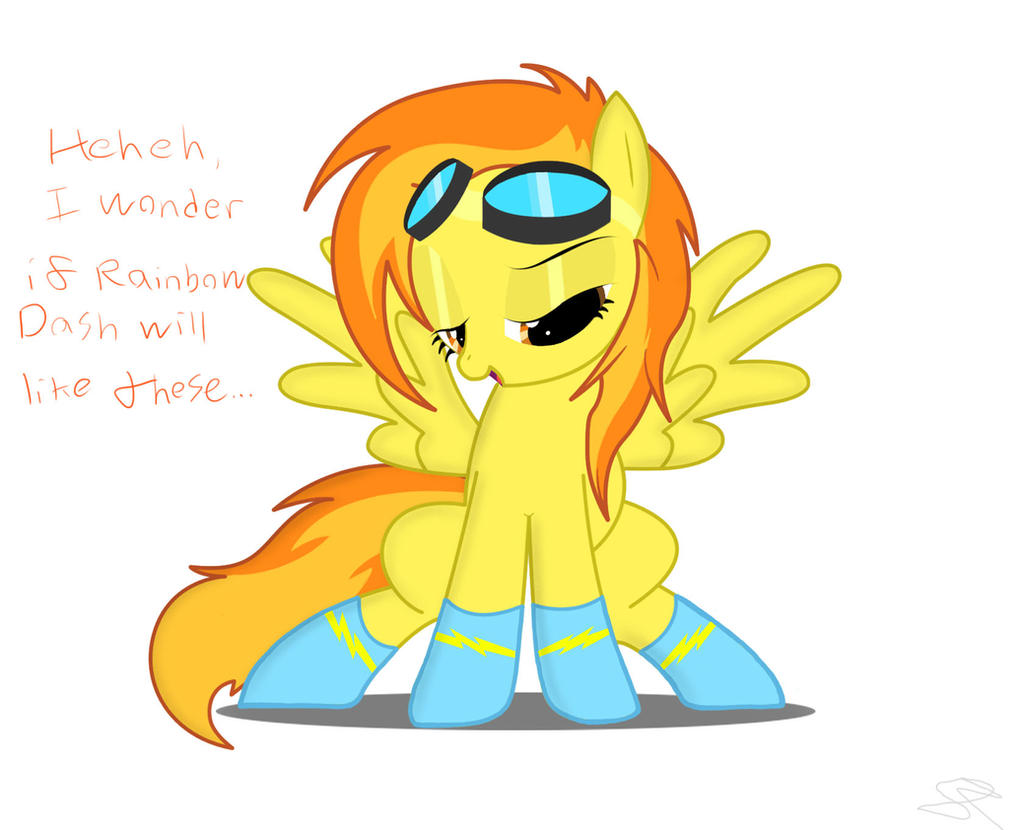 Spitfire in Socks by Spitshy
