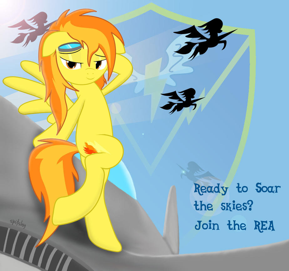 Join the REA....and soar with Spitfire! by Spitshy