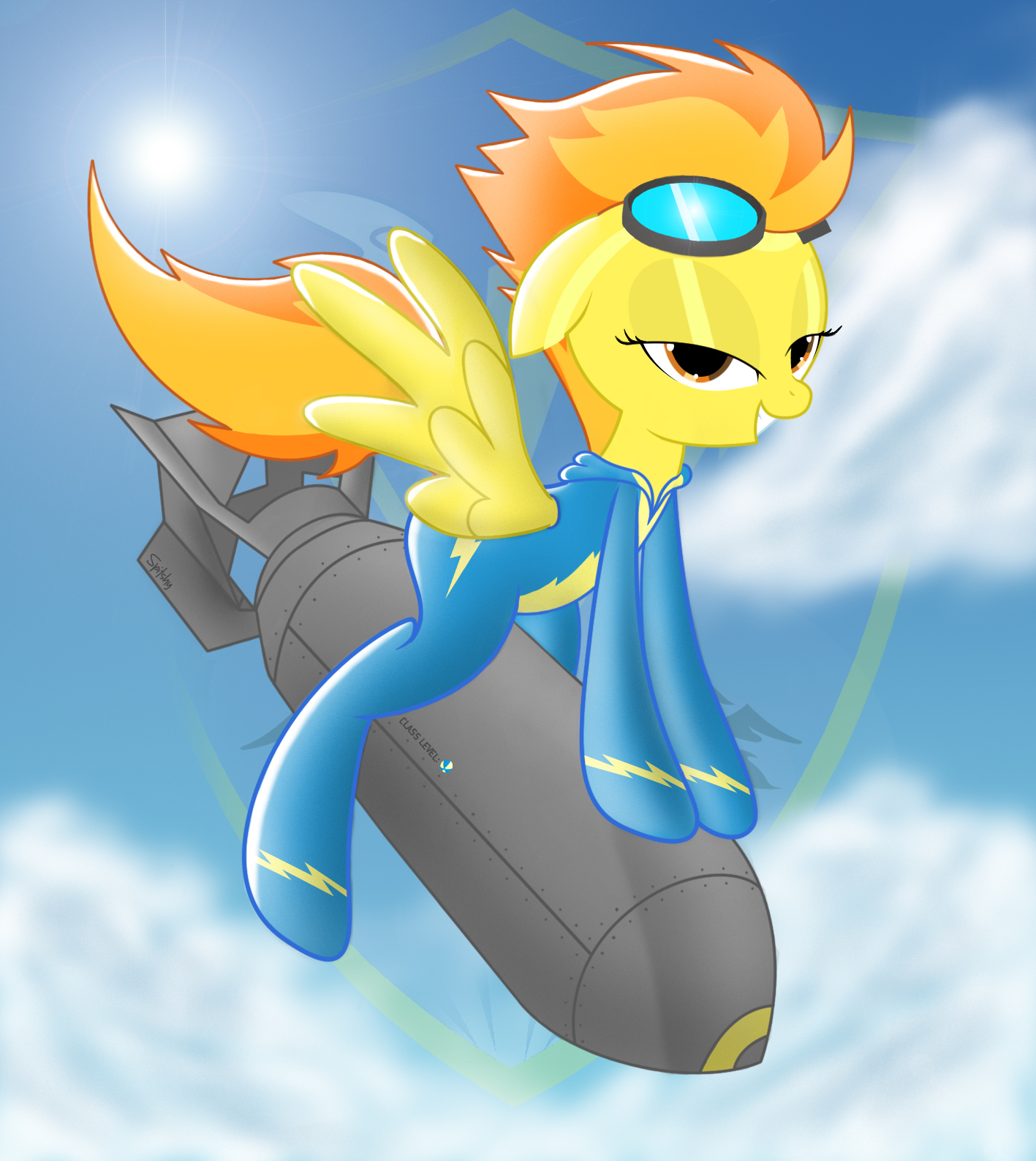 Spitfire.........Wants you to Saddle up! W/O words by Spitshy