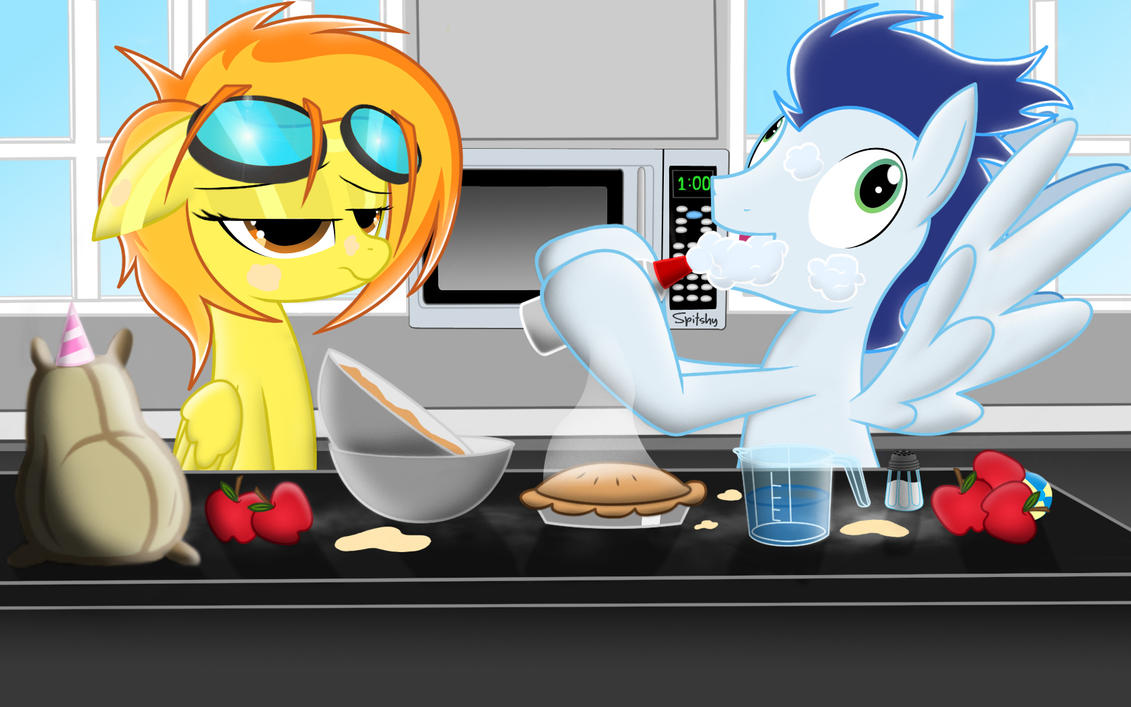Spitfire and soarin.......cooking a pie by Spitshy on ...
